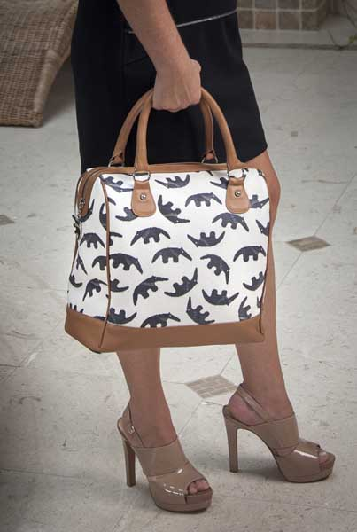 08 Jules K Luxury Handbags Feature Our Unique Original Anteater Pattern And Are Hand Made In